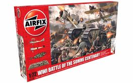 BATTLE OF SOMME WWI 1/72 DIORAMA AIRFIX