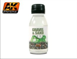 GRAVEL AND SAND FIXER 100ML AK INTERACTIVE