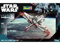 ARC-170 CAZA CLON 1/83 STAR WARS REVELL