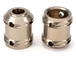 PINION COUPLER SET, ALU HARD ANODIZED (2): 5T LOSI TLR