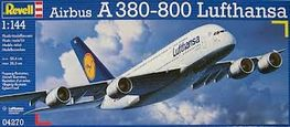AIRBUS A380-800 LUFTHANSA 1/144 REVELL