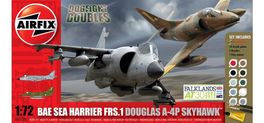 A-4/HARRIER FRS 1/72 DOGFIGHT DOUBLE AIRFIX