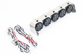 BARRA 5 LUCES 18MM CRAWLER 128MM