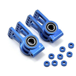 Alum Rear Hub Set with BB (2), Blue: 5IVE-T LOSI TLR