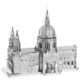 CATEDRAL DE SAN PABLO 1/1669, KIT 3D METAL.