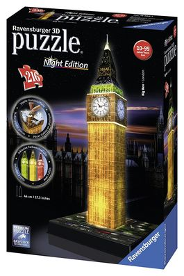 BIG BEN NIGHT EDITION PUZZLE 3D RAVENSBURGER