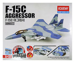 F-15C AGRESSOR PUZZLE 4D ACADEMY