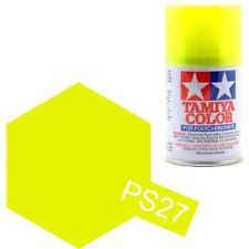 TAMIYA PS-27 AMARILLO FLUORESCENTE SPRAY LEXAN