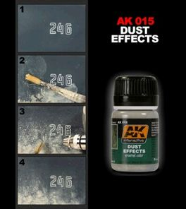 DUST EFFECT EFECTO POLVO AK INTERACTIVE