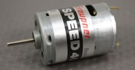 SPEED 400 MOTOR BRUSHED GRAUPNER 3.6V a 8.4V