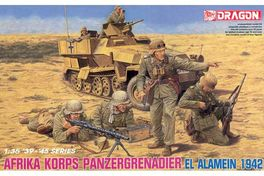 PANZERGRENADIER AFRICA KORPS 1/35 DRAGON