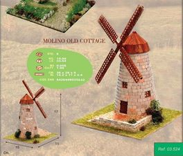 CUIT OLD MOLINO OLD COTTAGE KIT LADRILLO