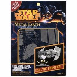 TIE-FIGHTER ADVANCED DARTH VADER STAR WARS METAL EARTH