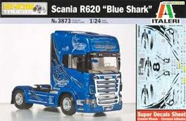 "SCANIA R620 ""BLUE SHARK"" 1/24 ITALERI"