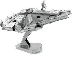 MAQUETA HALCON MILENARIO STAR WARS METAL EARTH