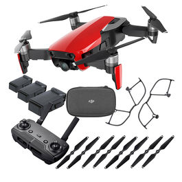 MAVIC AIR FLY MORE COMBO ROJO DJI 4K