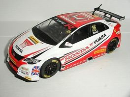 HONDA CIVIC BTCC 1/32 SUPERSLOT