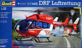 AIRBUS EC145 DRF HELICOPTERO DE RESCATE 1:32  REVELL