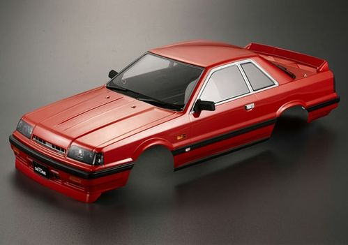 NISSAN SKYLINE R31 195MM ROJA 1/10 CARROCERIA KILLERBODY