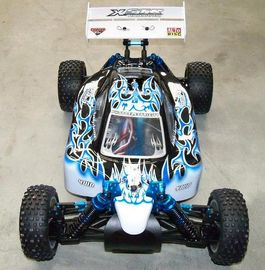 BUGGY XSTR TOP LIPO BRUSHLESS 1/10 AZUL-BLANCO HSP