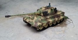 TANQUE 1/16 KING TIGER HENSCHEL HENG LONG