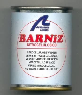 Barniz nitrocelulosico spray