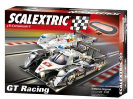 CIRCUITO C1 GT RACING CON COCHES SCALEXTRIC