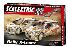CIRCUITO C2 RALLY X-TREME CON COCHES SCALEXTRIC