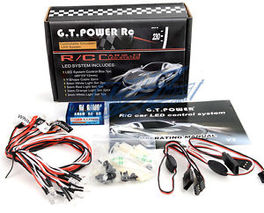 KIT LUCES LED COCHE GT POWER
