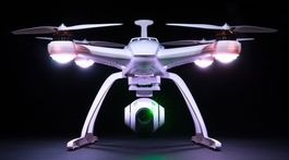 DRON CHROMA FULLHD - BATERIA EXTRA Y PROTECTOR HELICES GRATIS!