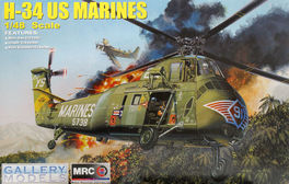 H-34 US MARINES 1/48 MRC