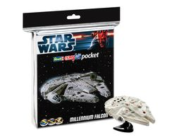 HALCON MILENARIO STAR WARS EASY KIT POCKET REVELL