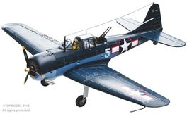 SBD-5 DAUNTLESS 1,54m ARF