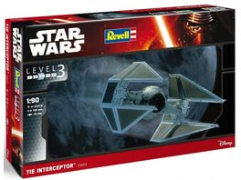 INTERCEPTOR TIE 1/90 MAQUETA STAR WARS REVELL