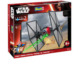 CAZA TIE PRIMERA ORDEN SPEC. OPS EASY KIT STAR WARS REVELL