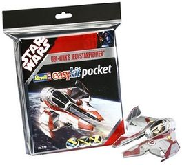 CAZA JEDI OBI WAN EASY KIT POCKET STAR WARS REVELL