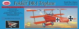 GERMAN FOKKER DR-1 TRIPLANO GUILLOWS