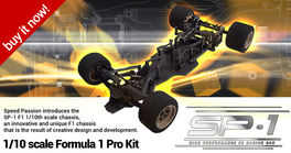 SPEED PASSION F1 SP1 PRO KIT 1/10