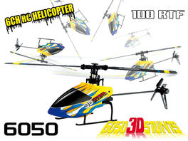 HELICOPTERO CXHOBBY 6050 RTF  6 CANALES FLYBARLESS