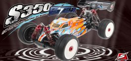 SWORKZ S350 BE1 RTR 1/8  OFF-ROAD RACING BUGGY ELECTRICO