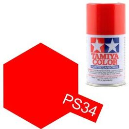 TAMIYA PS-34 ROJO BRILLANTE SPRAY LEXAN