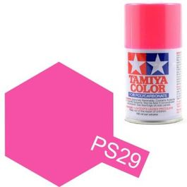 TAMIYA PS-29 ROSA FLUO SPRAY LEXAN
