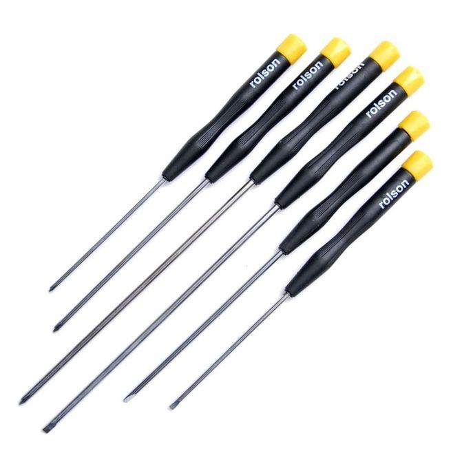 Set destornilladores largos precision rolson ihobbies - Destornilladores de precision ...