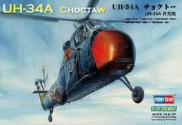 UH-34A CHOCTAW 1/72 HOBBYBOSS