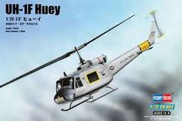 UH-1F HUEY 1/72 HOBBYBOSS