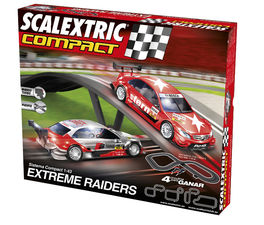 CIRCUITO COMPACT EXTREME RAIDERS SCALEXTRIC