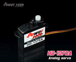 1370A POWER HD 0.4kg/0.1s/3.7g SERVO