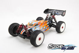 SWORKZ S350 BE1 KIT ELECTRICO 1/8 OFFROAD BUGGY