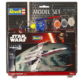 X-WING MODEL SET STAR WARS 1/112 REVELL
