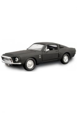 MUSTANG SHELBY GT500KR 1968 NEGRO MATE 1/43 ROAD SIGNATURE